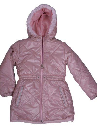 T001-kabát pufi púder