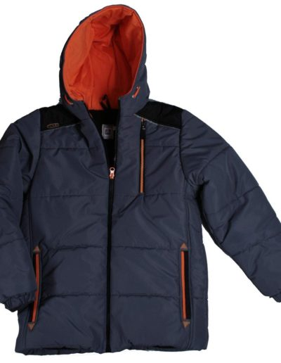 T011-kabát pufi szurke